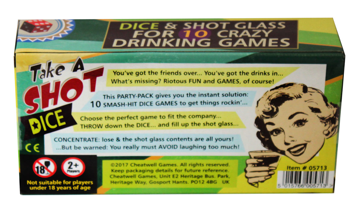 Take A Shot Dice Game
