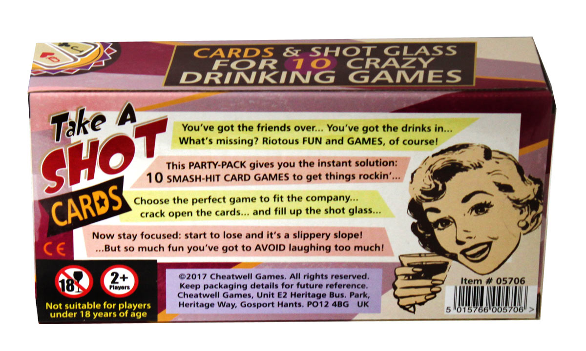 Take A Shot Card Game