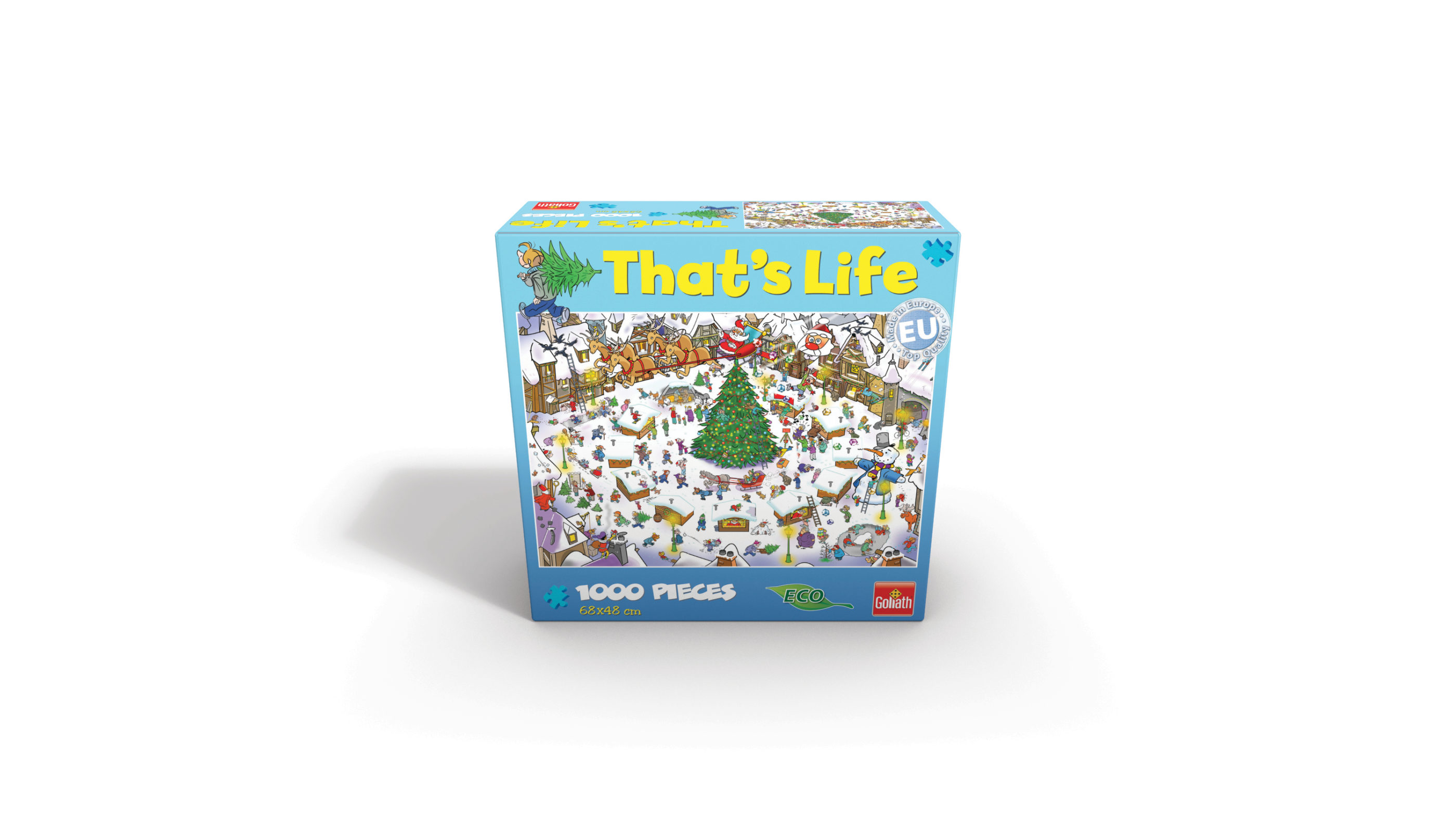CHRISTMAS-THAT'S LIFE PUZZLE