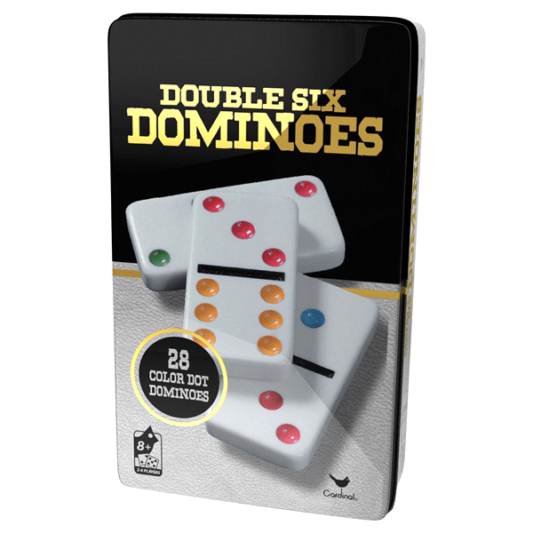 Classic Double 6 Colour Dominoes