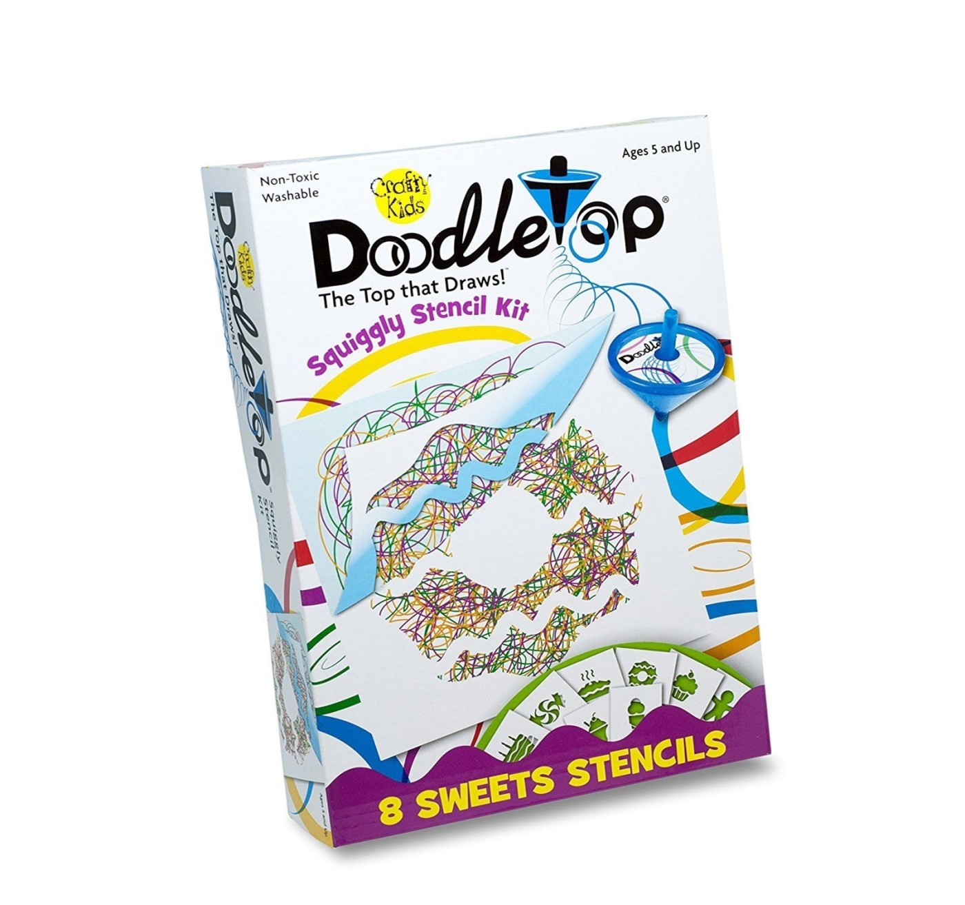 Doodletops Stencil Kit- sweets