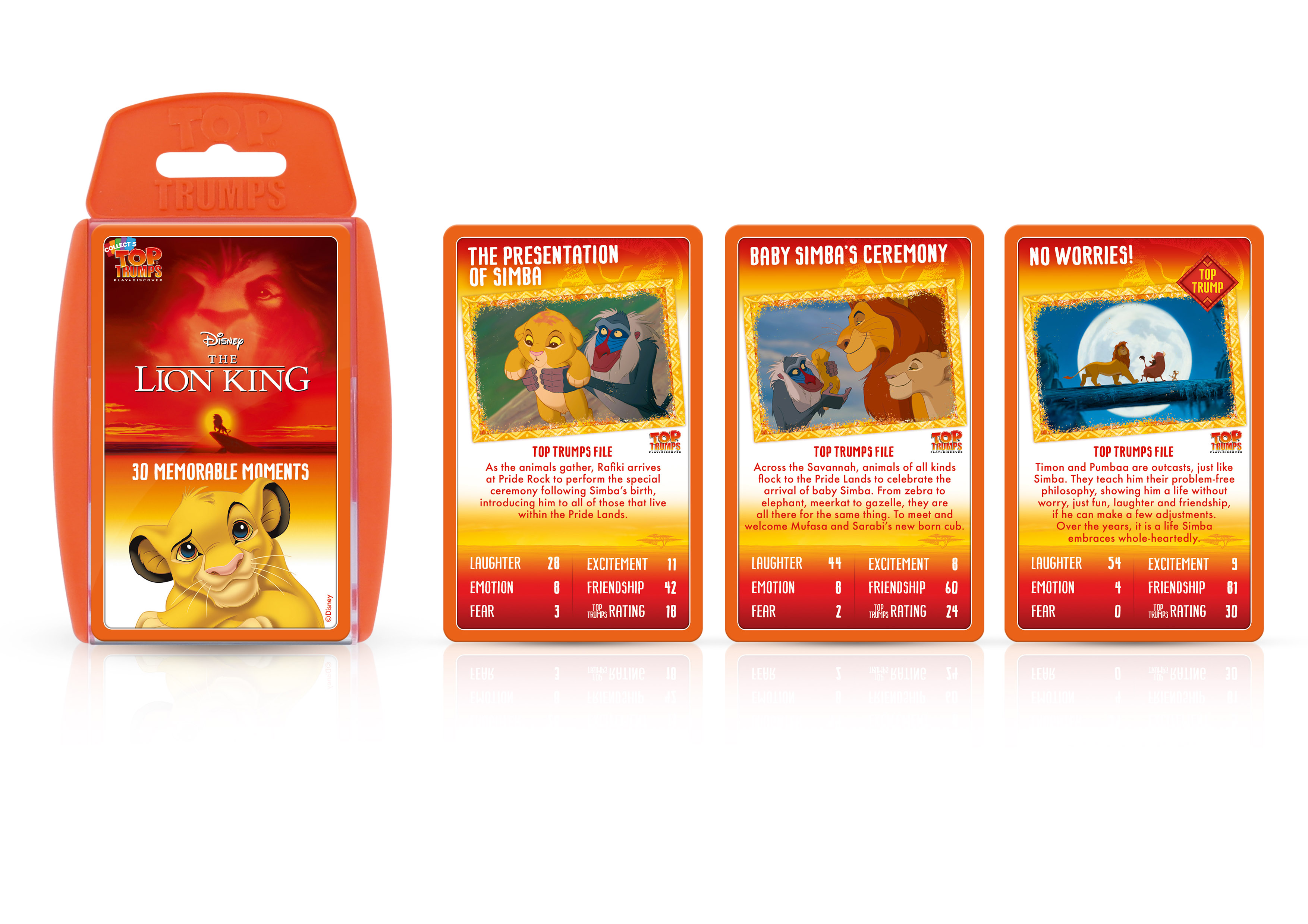 Top Trumps Lion King