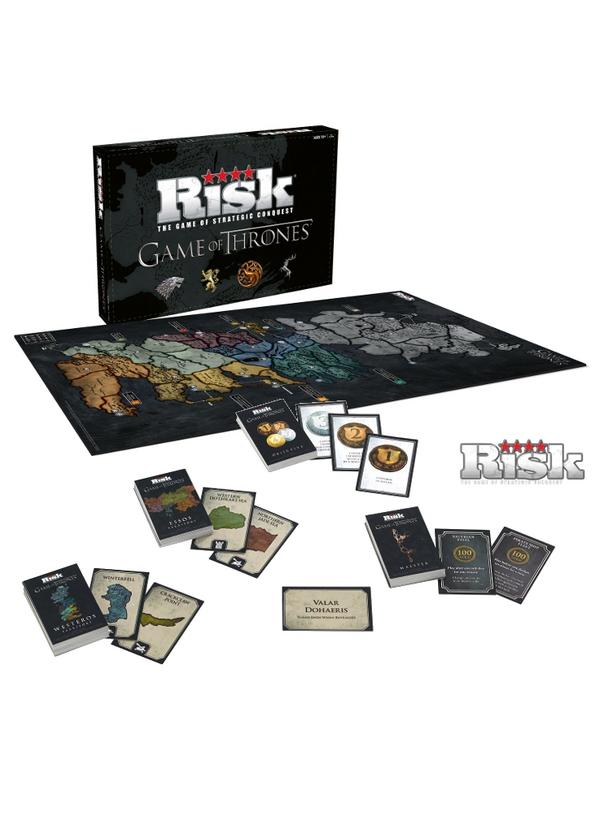Game of Thrones Risk - Deluxe Edition