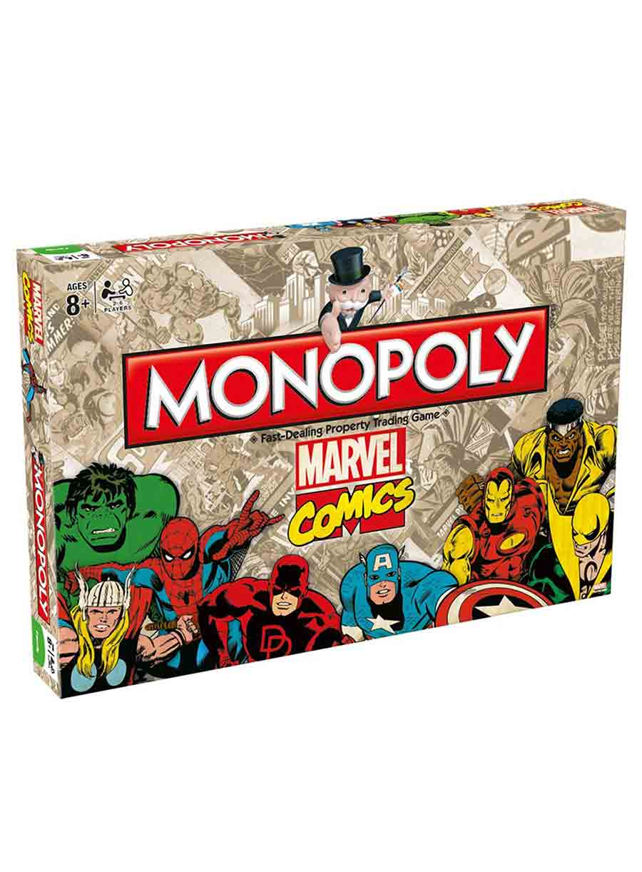 Marvel Comics Collector's Edition Monopoly