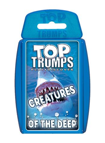 Classic: Creatures Of The Deep Top Trumps