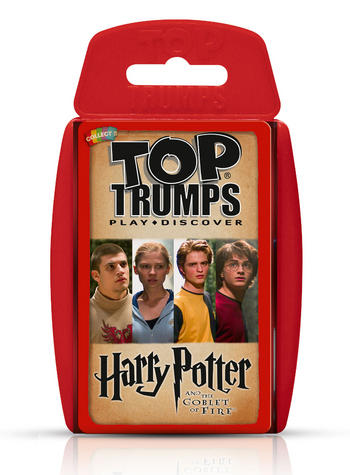 Harry Potter And The Goblet Of Fire Top Trumps