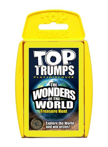 Classic: Wonders Of The World Top Trumps