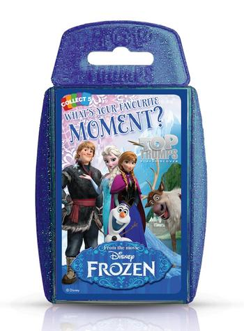 Disney Frozen Moments Top Trumps