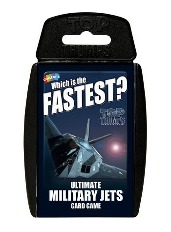 Classic: Military Jets Top Trumps