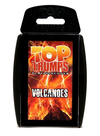 Classic: Volcanoes Top Trumps