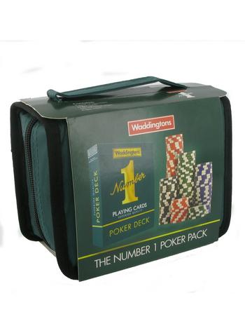 Waddingtons - Travel Poker Set