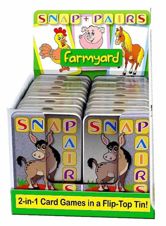 Snap & Pairs - Farmyard