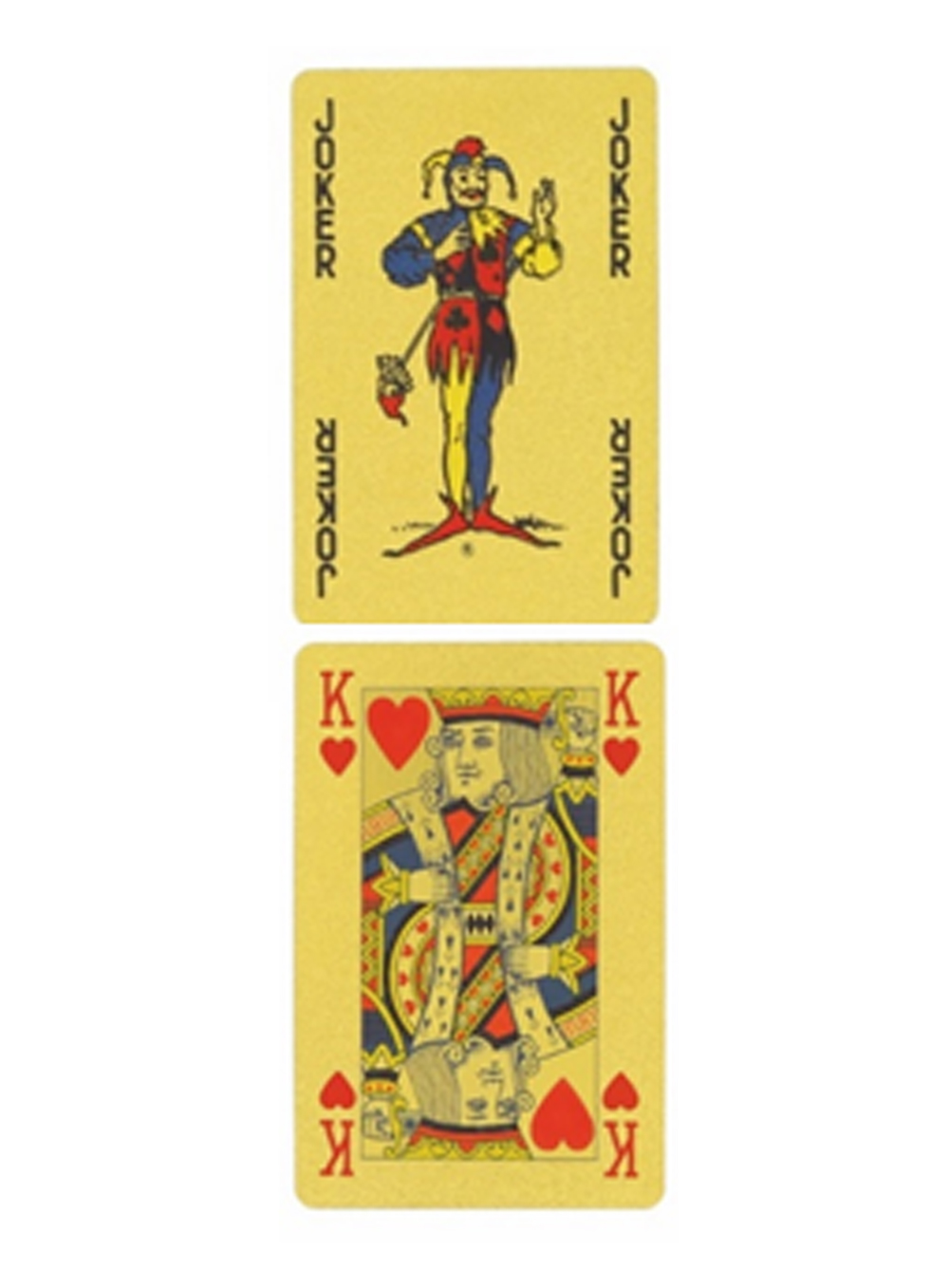 Waddingtons' No.1 Playing Cards - Gold